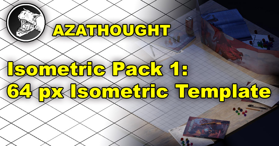 Isometric Pack 1: 64 px Isometric Template