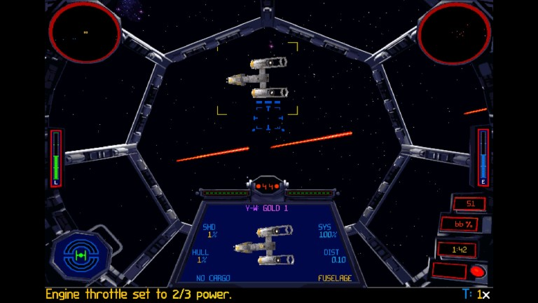 TIE Fighter the video game
